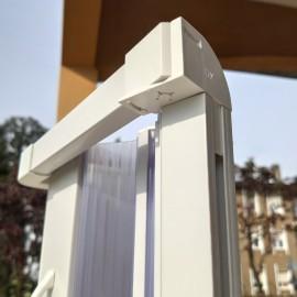 Box doccia con Profili snodati montaggio facilitato