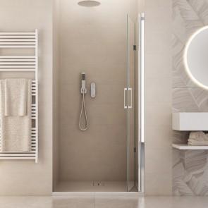 Porte de douche H190 cm Soufflet de...