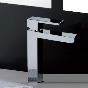 Miscelatore lavabo 1 leva quadrato...