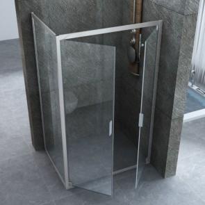 Box doccia Apertura Saloon Cristallo...