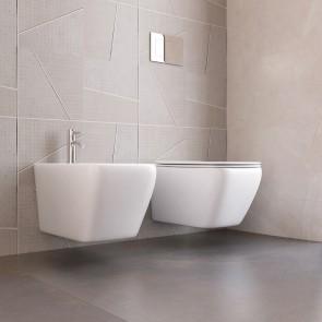 Cuvette WC Bidet Paire de Céramiques...