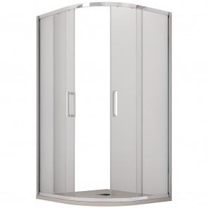 Cabine de douche ronde opaque en...