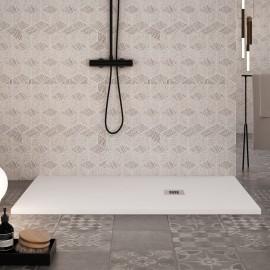 Piatto Doccia in marmo resina Bianco 2,5