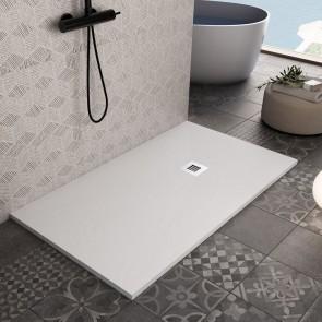 Receveur de douche en marbre blanc...