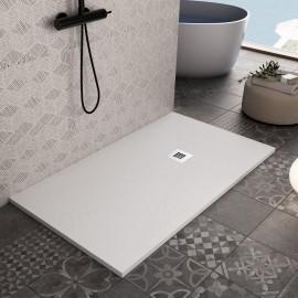 Receveur de douche en marbre blanc