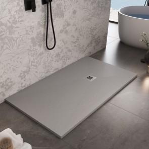 Receveur de douche en marbre gris...