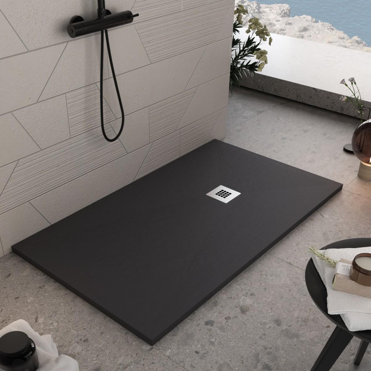 Piatto doccia in marmoresina Nero