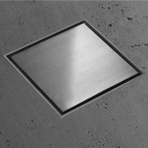 Canalina di scarico quadrata 15x15 Inox