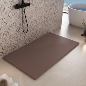Piatto doccia in marmoresina Marrone...