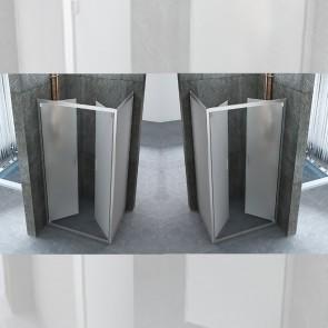Cabine de douche carré ouverture...