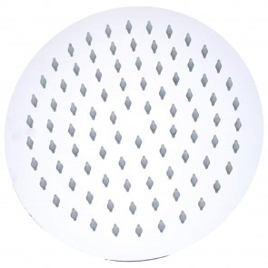 Soffione doccia tondo in acciaio -...