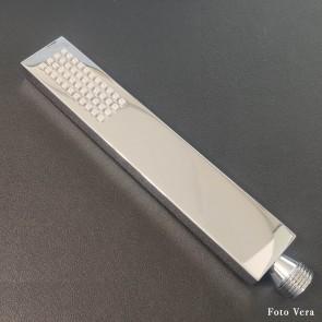 Douchette à main design carrée chromée