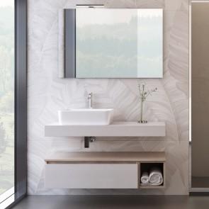 Composition de salle de bain...