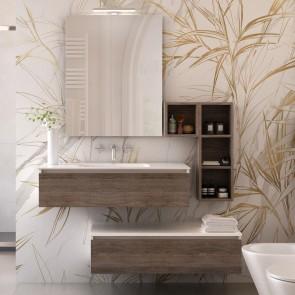 Meuble de salle de bain suspendu Duo...