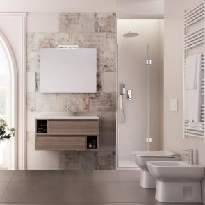90cm meubles suspendus orme, lavabo...
