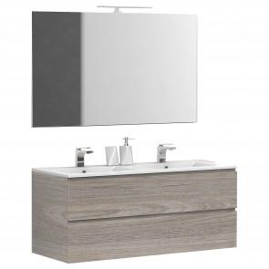 Meuble de salle de bain suspendu avec...