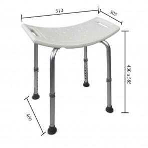 Chaise en aluminium réglable en...