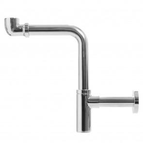 Le siphon d'évier design crée de...