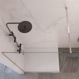 Paroi de douche à l'italienne H195 cm en