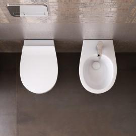Sanitari sospesi Rimless wc e bidet