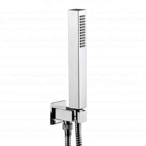 Support de douche fixe en laiton avec...