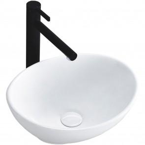 Lavabo da appoggio bianco mini 34x27