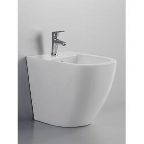 Sanitari a filo muro wc e bidet...