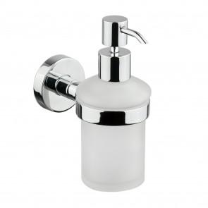 Porte-savon liquide design en verre...