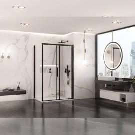 Box doccia due lati LAGOA con profili