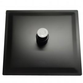 Colonna doccia nera opaca con