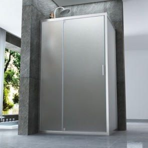 Box doccia due lati con porta...