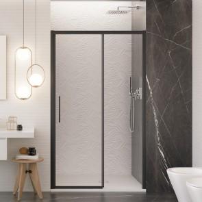 Porta doccia scorrevole con profili...