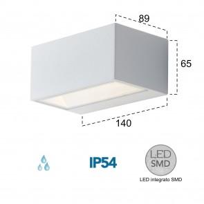 Applique d'extérieur LED blanche...