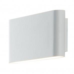 Applique blanche avec lumière LED de...