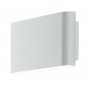 Applique da parete per esterno 2x5w a led a doppia emissione bianca Book