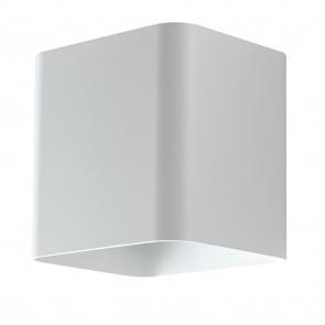 Applique da parete per esterno 7w a led a doppia emissione bianca Cube