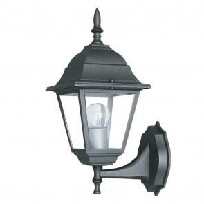 Lanterne applique noire pour l'extérieur