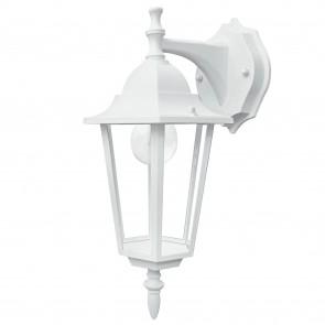 Lanterne applique d'extérieur blanche