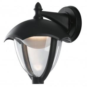 Lanterne noire à led 4000kelvin 12 watts