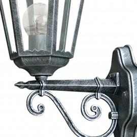 Lanterne applique vers le haut pour