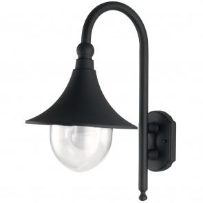 Lanterne applique d'extérieur noire