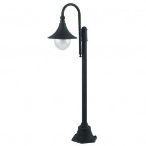 Paletto luce da esterno 60W E27 nero...