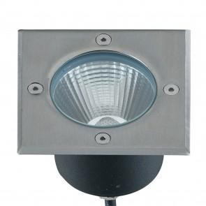 Spot LED carré piéton 11 cm