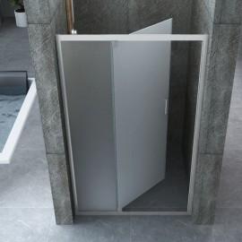 Porta Doccia Semi Battente 6mm Opaco