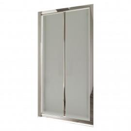 Porta doccia a soffietto in cristallo