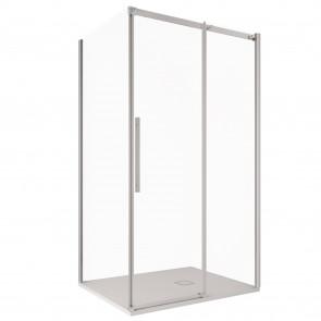 Cabine de douche d'angle H200 avec...