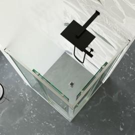 Box Doccia due lati Angolare Trasparente