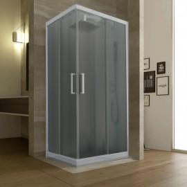 Box doccia due lati scorrevole cincilla