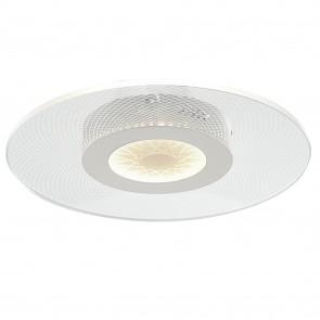 Plafoniera da soffitto per interno 34W a led bianca Always. Struttura moderna e raffinata in metallo e acrilico.