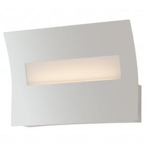 Applique da parete per interno 6W a led bianca DAWN. Punto luce rettangolare dal design moderno e funzionale.